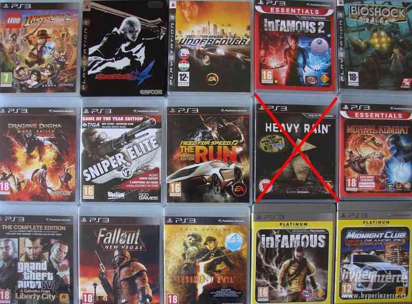 PS3 hry - velký výběr her na playstation 3
