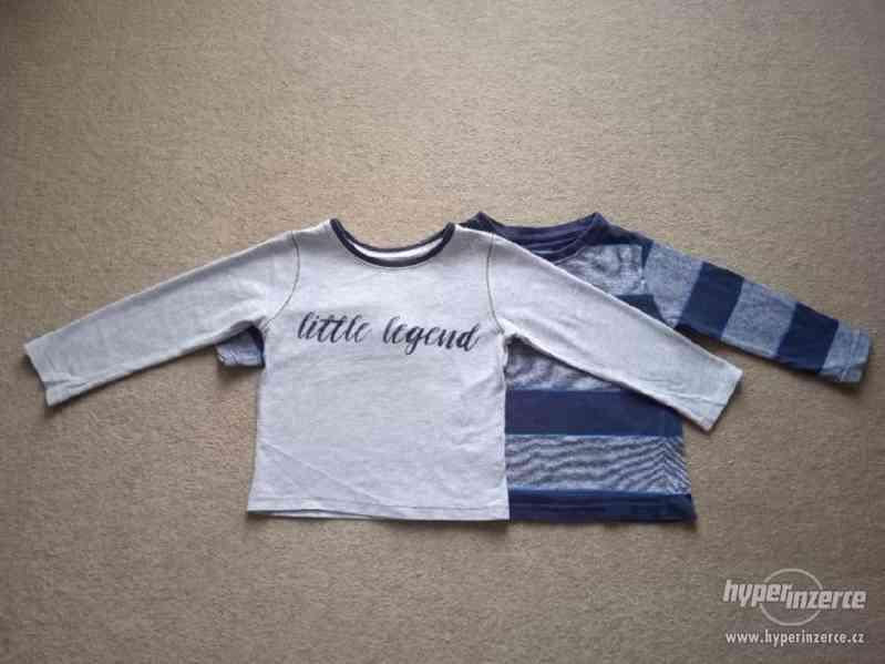 Chlapecké trička 2x