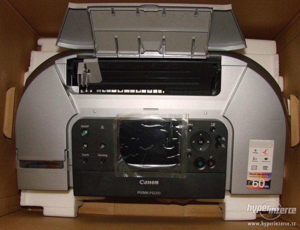 Inkoustová tiskárna Canon Pixma IP6220D - foto 1