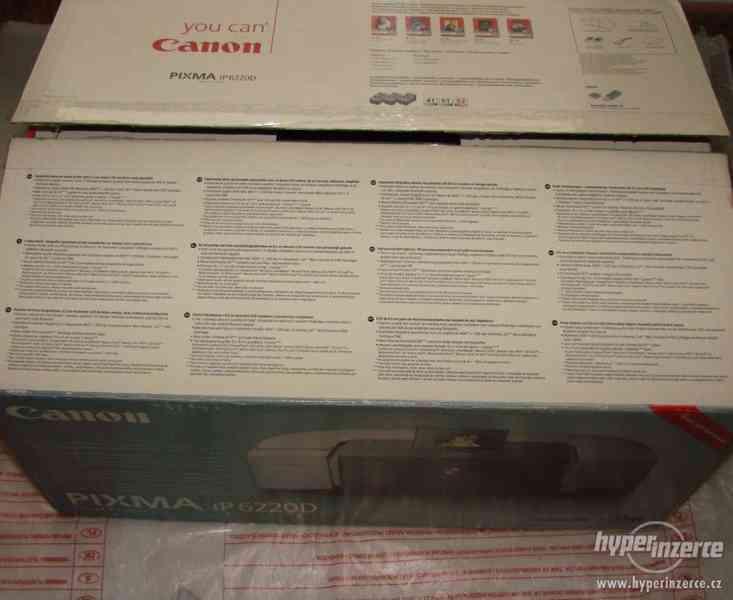 Inkoustová tiskárna Canon Pixma IP6220D - foto 2