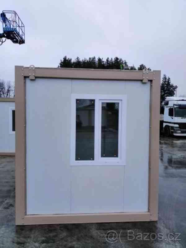 Obytný kontejner, vrátnice, kancelář 240x240 cm - foto 3