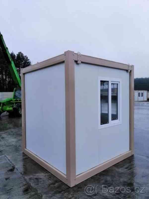 Obytný kontejner, vrátnice, kancelář 240x240 cm - foto 1