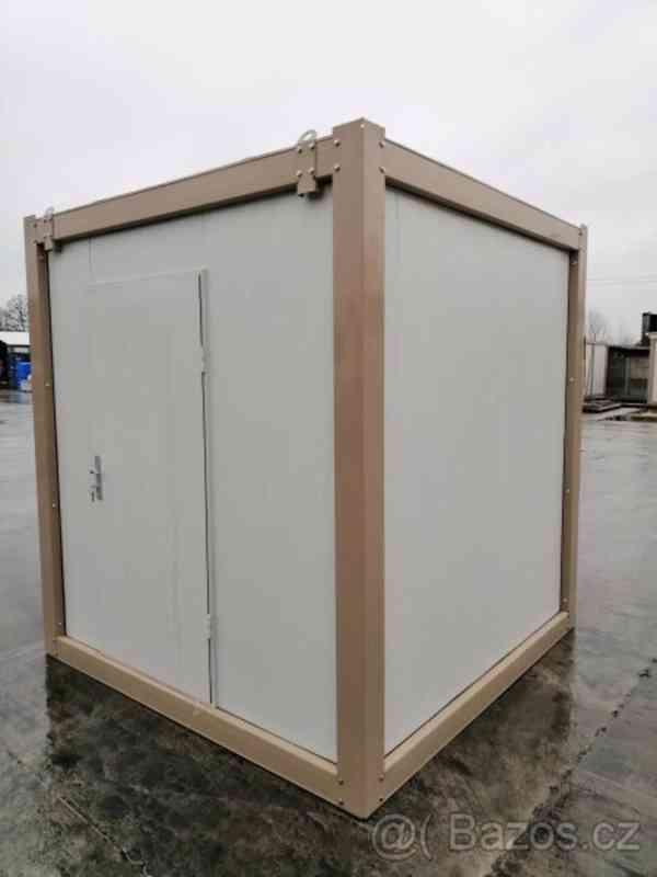 Obytný kontejner, vrátnice, kancelář 240x240 cm - foto 2