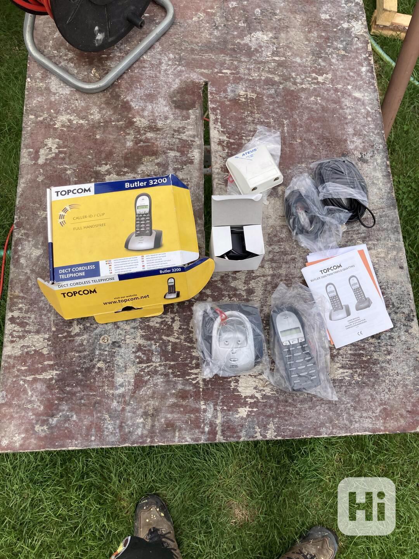 Bezdrátový telefon Topcom Butler 3200 - nový - foto 1
