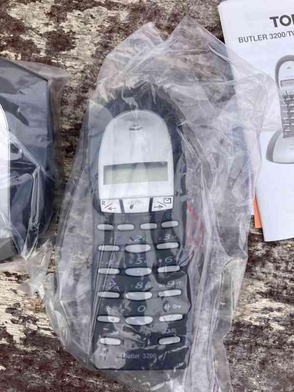 Bezdrátový telefon Topcom Butler 3200 - nový - foto 2