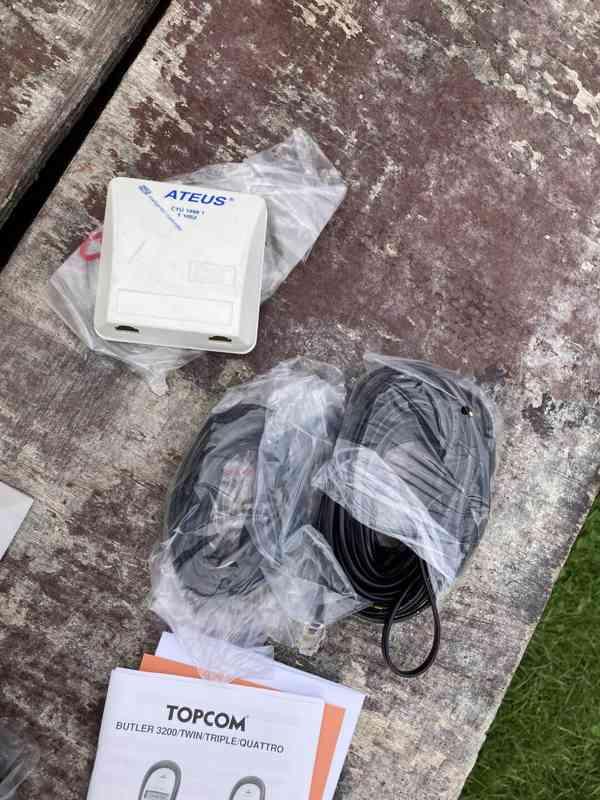Bezdrátový telefon Topcom Butler 3200 - nový - foto 8