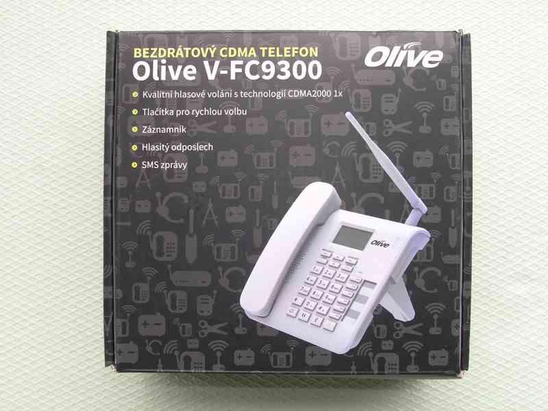 Bezdrátový CDMA telefon Olive V-FC9300 - foto 2