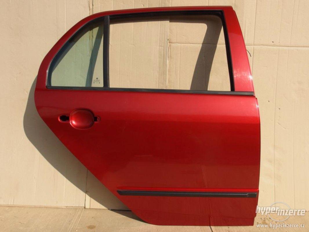 Pravé zadní dveře Škoda Fabia I hatchback - foto 1