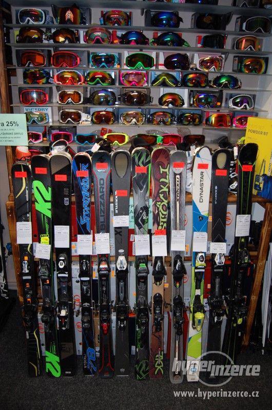 VÝPRODEJ Carvingové lyže Allmountain