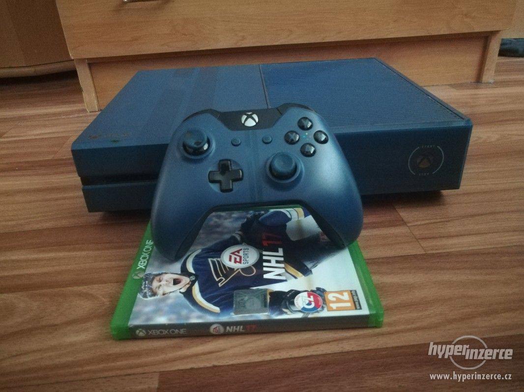 Xbox one 1TB Forza Limited Edition + NHL 17 - foto 1