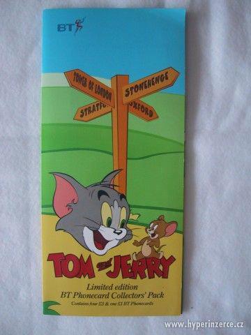 telef. karty TOM and JERRY - foto 3