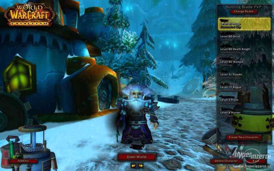 World of Warcraft : Účet + Hra + Datadisky