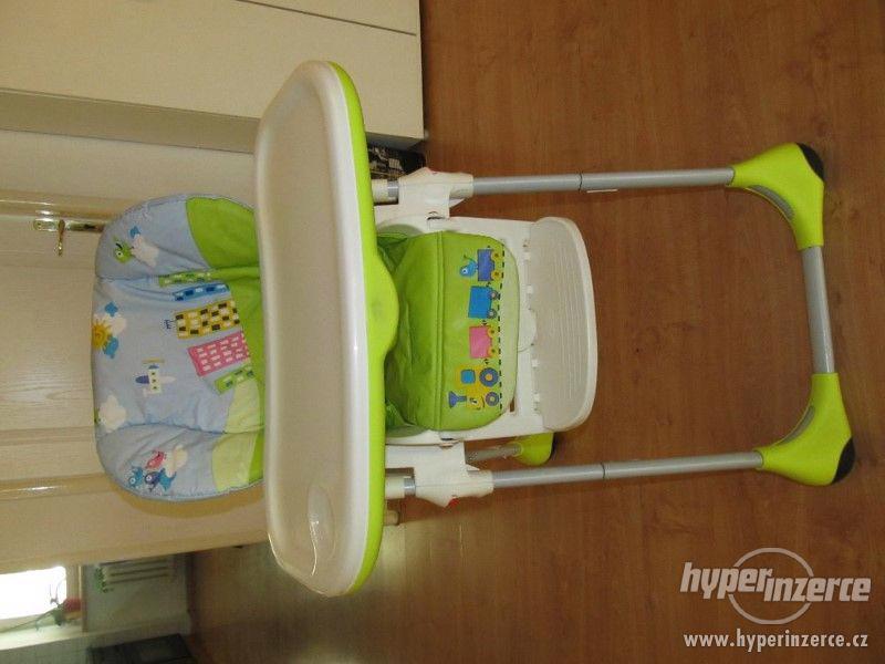 Dětská jídelní židle Chicco Polly - foto 1
