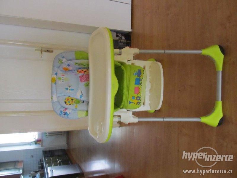 Dětská jídelní židle Chicco Polly - foto 2