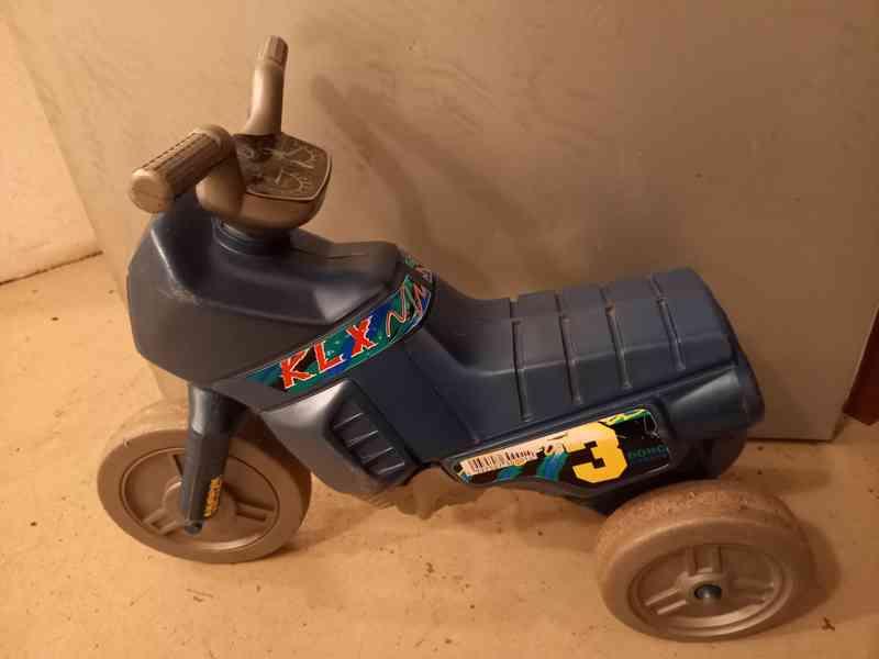 Dětská motorka - odrážedlo