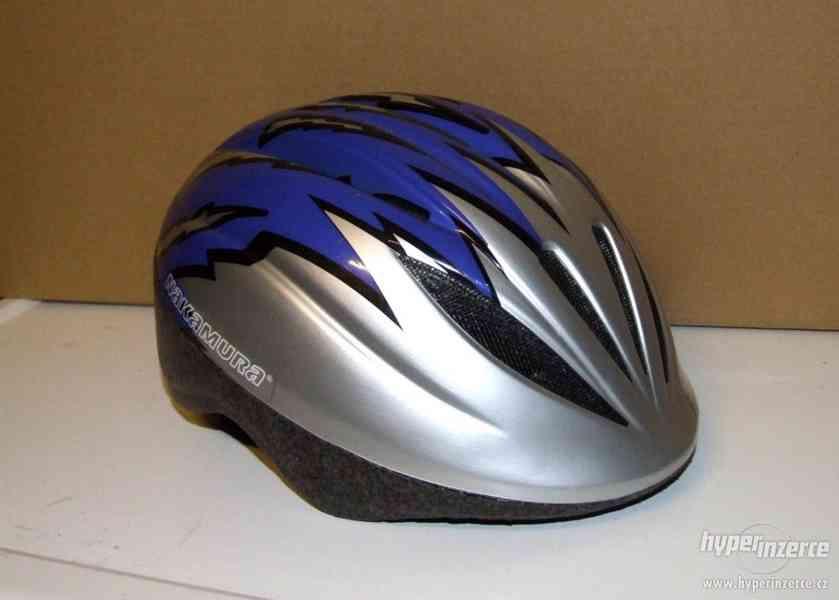 Cyklistická helma ( přilba na kolo ) Nakamura Action Kid S/M