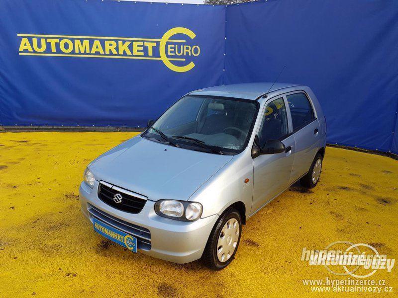 Suzuki Alto 1.1, benzín, r.v. 2003, el. okna, STK