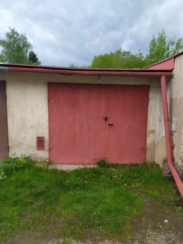 Prodej garáže Nové Město na Moravě
