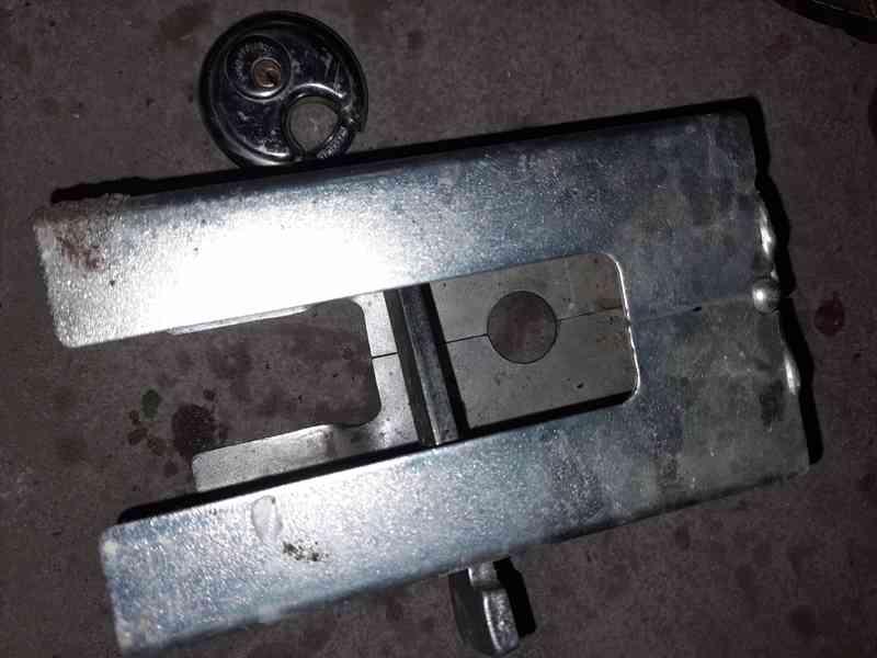 Zámek ALBE safety box XL/K rozvírací