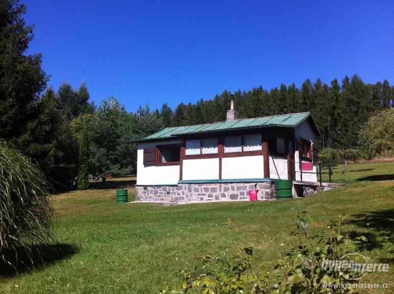 Prodej chaty a pozemku