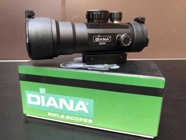 Kolimátor 3x44 Diana - foto 1