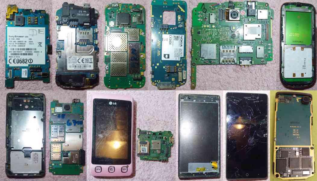 Základní desky k mobilům -funkční!!! - foto 1