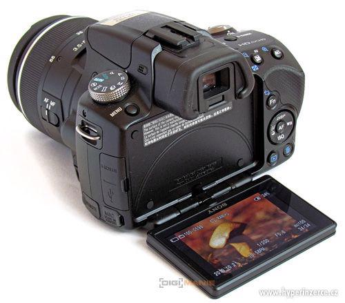 Sony SLT A-33 s Tamron 17-50 a blesk HLV-F42AM - foto 1