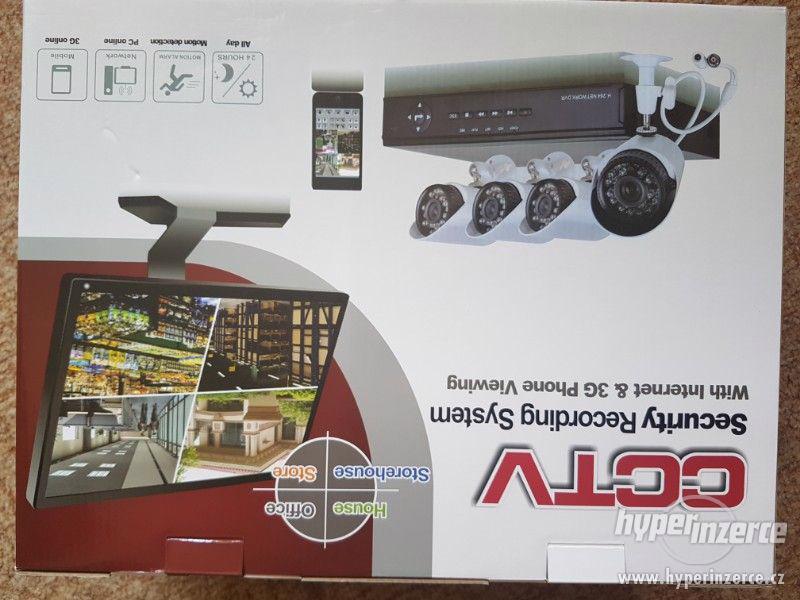 Kamerový set CCTV + noční vidění - Možné přímé sledování pře