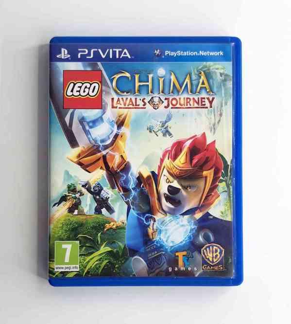 PS Vita - LEGO Legends of Chima Laval's Journey