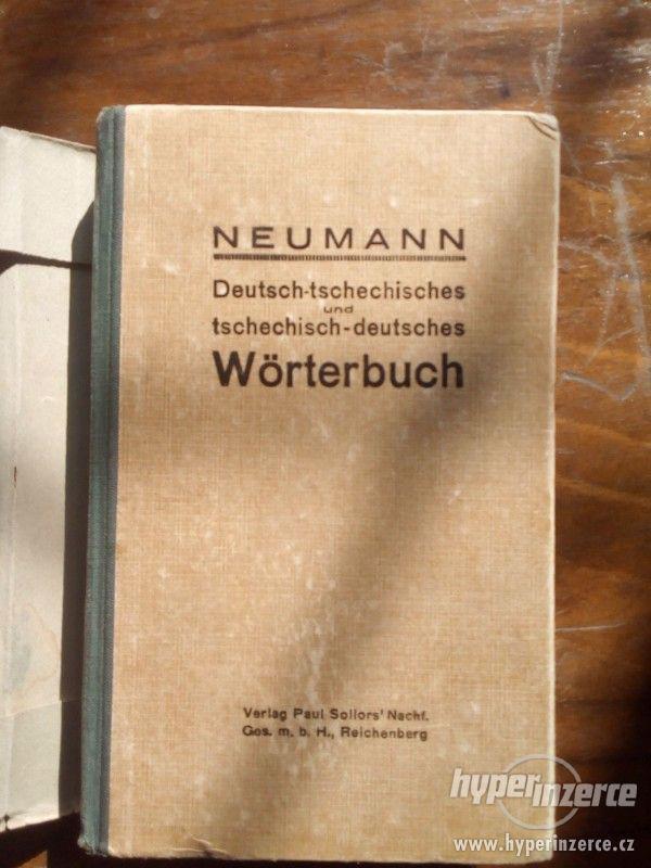 Česko-německý slovník (Hanuš Neumann)