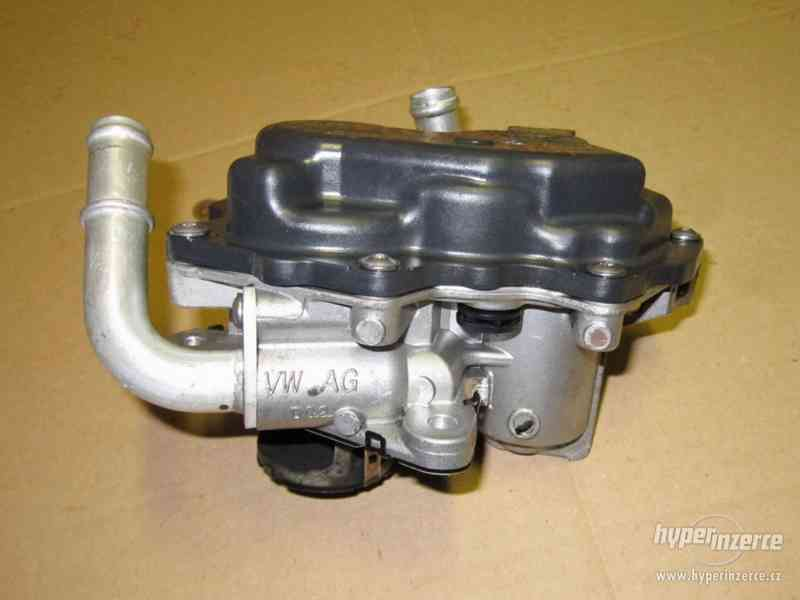 Original VW EGR AGR ventil 04L131501S 1,6TDI 2,0TDI - foto 3