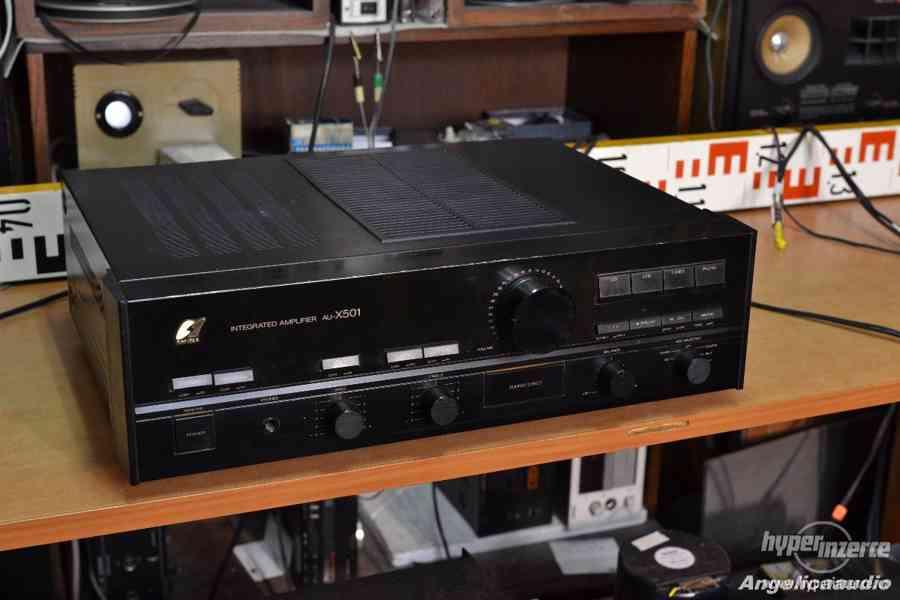 Sansui AU-X501 stereo zesilovač made in Japan - 11 Kg !!!