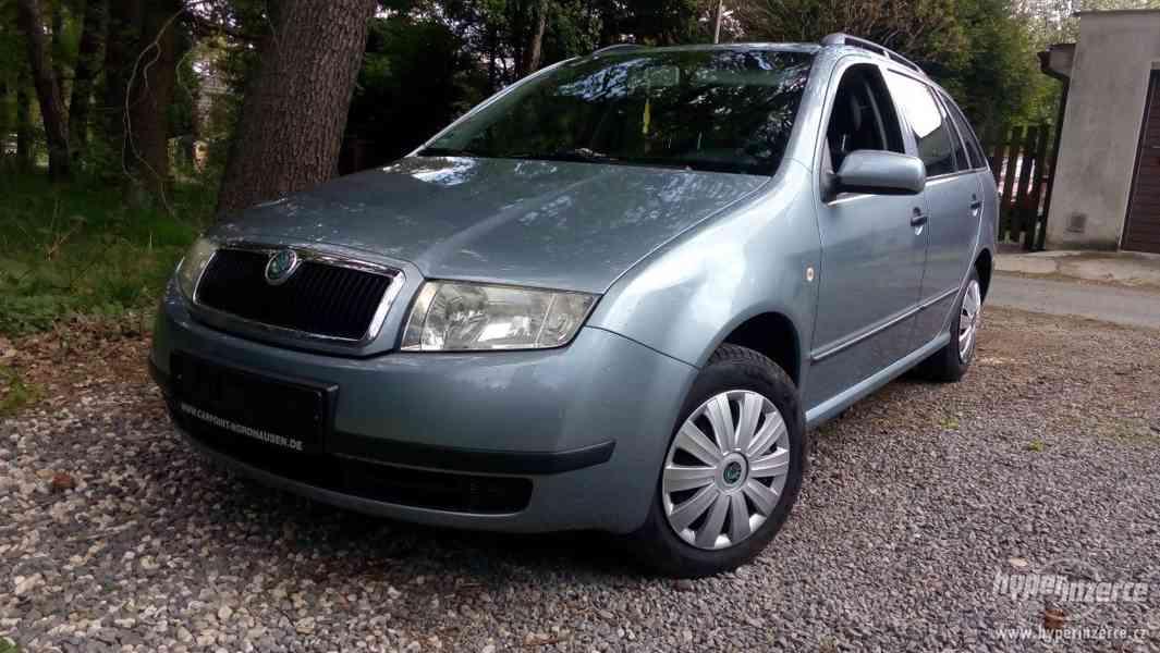 Škoda Fabia 1,4 16v,kombi,serviska,1.majitel;r.v.2004