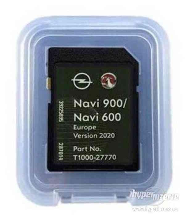mapy Opel NAVI600 / NAVI 900 SD Card Europe 2020