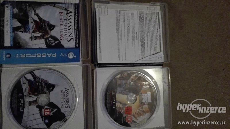 GTA liberty city two episodes + Assassin's creed Black flag