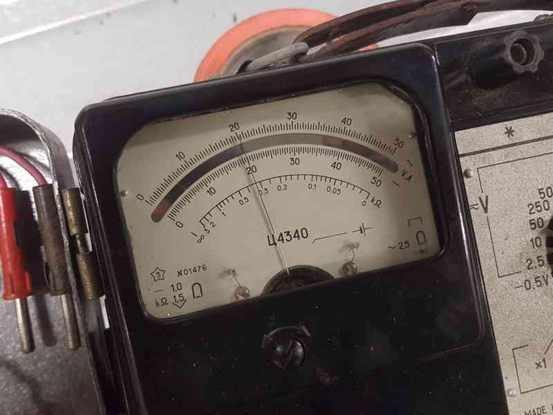Multimetr C4340 - USSR - foto 2