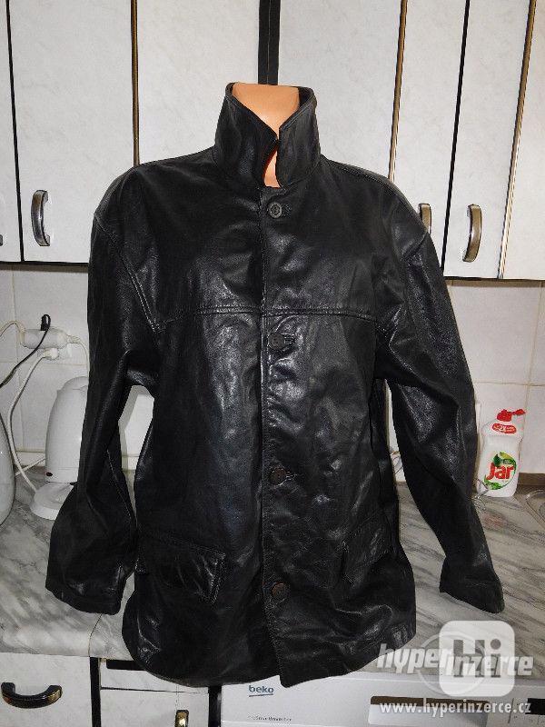 pánská kožená bunda - foto 1