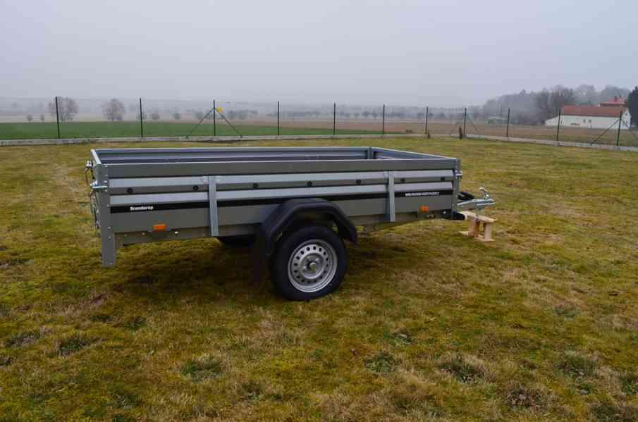 Brenderup 2260 - sklopný, 258x153  -přívěsný vozík