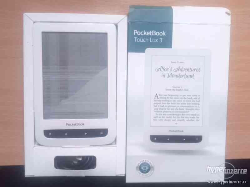 Pocketbook touch lux 3 na součástky, rozbitý display - foto 1