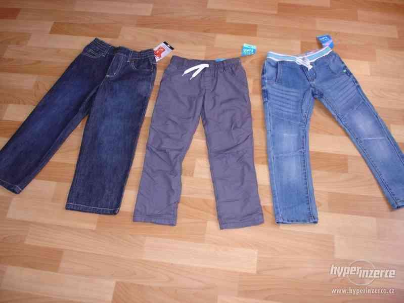 kalhoty vel.110 NOVÉ