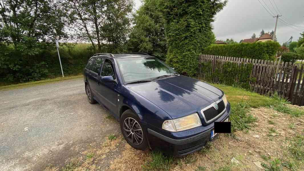 Škoda Octavia I Elegance, 1.9tdi 66 kw, hezký stav
