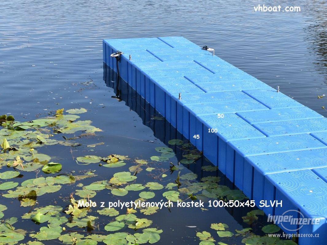 Molo z plastových kostek   SLVH - foto 1
