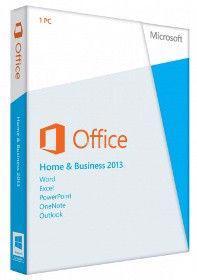 Microsoft Office 2013 Home and Business - druhotná licence