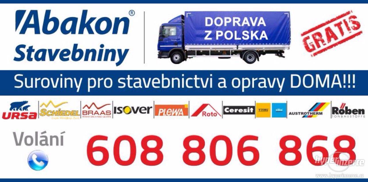 Stavební Materiály z Polska-Doprava GRATIS! - foto 1
