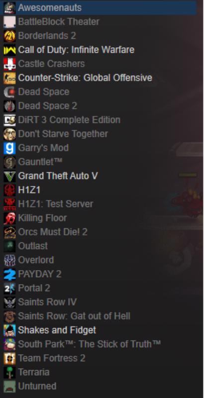 Steam učet