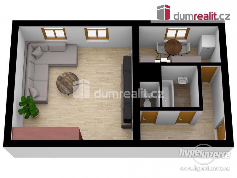 Prodej cihlového bytu 1+1 v Břeclavi