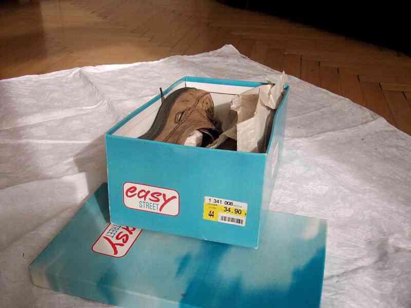 Elegantní pánské kožené boty EasyStreet, velik. 44 - foto 12