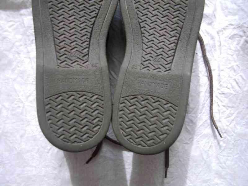 Elegantní pánské kožené boty EasyStreet, velik. 44 - foto 11