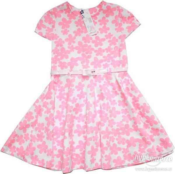 Dívčí společenské letní šaty