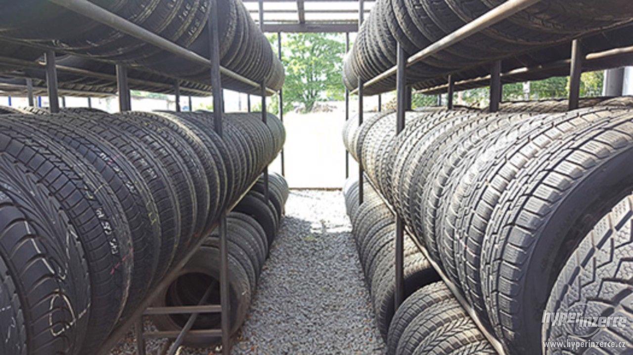 Bazar pneu, letní pneu, disky, ceny od 250 Kč - foto 1